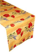Provence Acrylic Coated Runner - Poppy Yellow