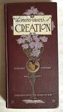 PHOTO DRAMA OF CREATION. Watchtower Jehovah  PASTOR RUSSELL original DELUXE