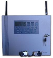 Centrale allarme 433 MHZ Filare / Wireless in case di metallo GOLEM