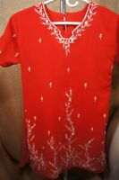 Made in India Red Small Women's Dress/Shirt