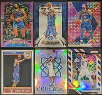 Lot of (6) Steven Adams, Including Prizm pink /50, NBA Hoops RC & Crusade silver