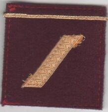 GALON Militaire Grade de poitrine pour SERGENT VSL Service de Santé des Armées