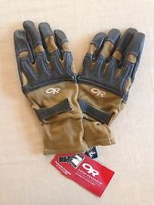 NEW! $130 Outdoor Research OR Rockfall Sensor Tactical Gloves. Made In USA. Med