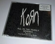 Korn - All in the Family Remixes - RARE PROMO Advance CD. Nu Metal.