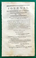 Ajaccio Corse en 1796 Bastia Cap Corse Gentili Brest Révolution Française