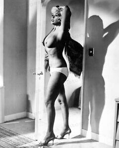 8x10 Print Jayne Mansfield Sexy Busty Revealing #JM66