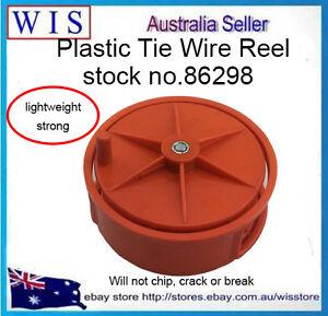 Plastic Tie Wire Reel,Red Color,Tie Wire Reel,Masonry/Concrete Tools-86298