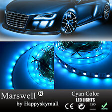 5M Royal Blue LED Strip Light Non-waterproof SMD5050 300led 480nm Wave Length