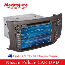 "8"" Car Radio DVD Player GPS Nav Stereo For Nissan Pulsar 2012-2016"
