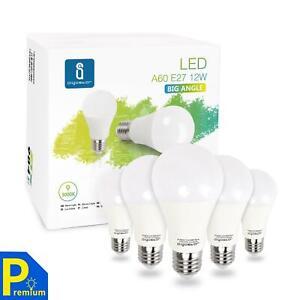 Aigostar - Bombilla LED E27, 12W equivalente a 100W, Luz calida 3000K, 984 lúmen
