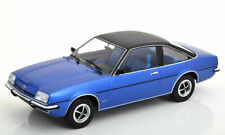 MODEL CAR GROUP - OPEL MANTA B BERLINETTA 1975 METALLIC BLUE COLOUR 1:18 SCALE