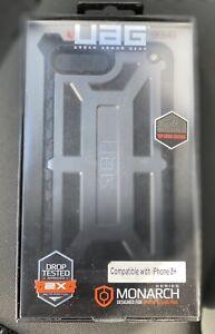 URBAN ARMOR GEAR Monarch Wrap Bumper Case for iPhone 8 Plus - Top Grain Leather