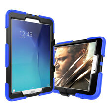 For Samsung Galaxy Tab A 8.0 SM-T350 Shockproof Rubber Bumper Stand Hard Case