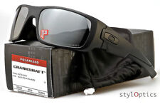 Sunglasses Polarized@Oakley@@Crankshaft Matte Black/Grey Iridium