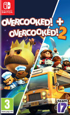 Overcooked! + Overcooked! 2 (Switch)  NEW AND SEALED - IN STOCK - QUICK DISPATCH