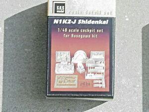 Kawanishi N1K2-J Shidenkai George SBS Resin Cockpit Detail Set Hasagawa Kit 1/48