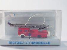 WIKING 3096201  Spur N, Magirus Deutz Feuerwehr Drehleiter + Figuren, EVP, MDL