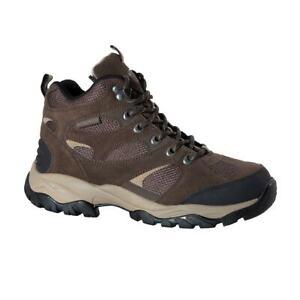 Northwest Territory Women's Brown Hiking Walking Trek Waterproof Boots UK 4 - 8