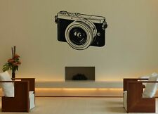 Wall Art Vinyl Sticker Room Decal Mural Decor Photo Video Camera Picture bo2307