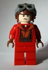 LEGO Star Wars Minifig Naboo Fighter Red Jumpsuit STARFIGHTER Episode 1 MINT