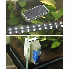 Magnetic Aquarium Fish Tank Glass Algae Scraper Cleaner Floating Clean Brush (M)