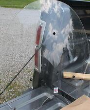 Used Custom English BSA Triumph Chopper British Windshield No Cracks (U-458)