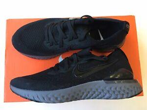Nike Women's Epic React Flyknit 2 Running Shoes Black/White BQ8927-001 Size 8