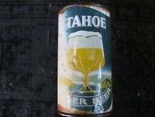 Tahoe, flat top beer can.,.Maier brewing, L.A. Calif.