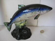 RARE VINTAGE BESWICK ENGLAND ATLANTIC SALMON FISH 1233
