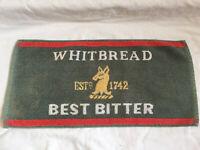 VINTAGE Whitbread Best Bitter Beer Bar Towel Pub