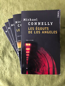 ¤ Lot 5 livres thrillers - MICHAEL CONNELLY - éd. Points Poche