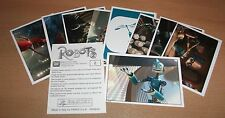 PANINI ROBOTS LOT DE 10 STICKERS AUTOCOLLANTS