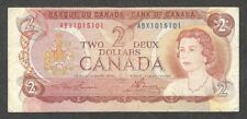 1974 RADAR ABX $2.00 BC-47aA-i VG-F ** Very RARE Bank of Canada REPLACEMENT Note