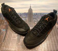 new style 56fb0 0f807 Nike Air Jordan XII 12 Retro Low Black Max Orange-Anthracite Size 16 308317