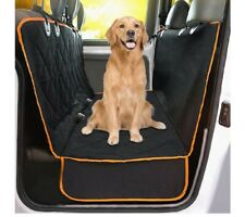 meekPet Dog Black Seat Cover Dog Car Seat Cover for Pets Waterproof Pet Seat.