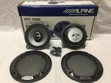 "ALPINE SPE-5000 5-1/4"" CAR SPEAKER 5.25"" CAR AUDIO SPEAKER TYPE E SERIES SPE5000"
