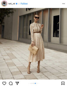 Zimmermann Espionage Lace-up Dress - New With Tags- RRP$3,950
