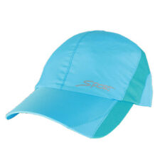 Lightweight Dry-Quick Running Cap Tennis Sport Performance Hat Adjustable Blue