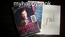 SIGNED Everybody Is Awful (Except You!) by Jim Florentine, autographed, new