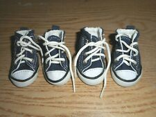 New Petrich Navy & White Lace-Up Sneakers Size 2 For Your Pet