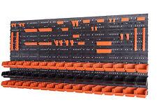 58 Set Werkzeugwand Wandregal Stapelboxen Montagewand Schütten 10 x 15,5 x 7cm
