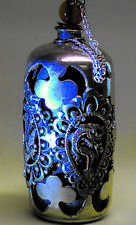 Rare Old Chinese Jade Silver Snuff Bottle