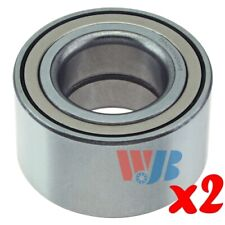 Pair of 2 New Front or Rear Wheel Bearing WJB WB510006 Interchange 510006 FW153