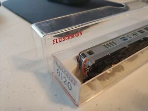 Fleischmann 8120 N Scale DB Silverfish 2nd Class Control Car LN/Box