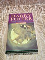 Harry Potter and the Prisoner Of Azkaban Paperback 1st Edition 6th Print TBLO