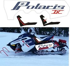 POLARIS RUSH PRO RMK 600 800 PRO 120 136 SHORT TUNNEL TANK DECAL STICKER retro