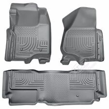 FITS 11-16 FORD SUPER DUTY HUSKY LINER WEATHERBEATER COMBO GREY EXSTENDED CAB..