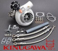 """Kinugawa GTX Billet Turbocharger 3"""" Anti Surge TD06SL2-25G 4G63T DSM EVO 1~3 VR4"""