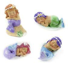 Mini Sleeping Baby Mermaids Garden Yard Desk Cute Decor Figurine Gift Hawaii