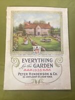 """Vintage 1935 """"Everything For The Garden"""" Catalog By Peter Henderson & Co.."""